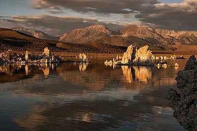 Sunrise On Mono Lake Poster