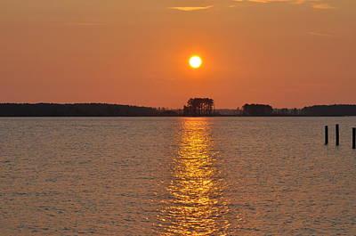 Sunrise On St. George's Island Poster