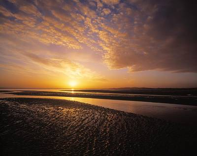 Sunrise, Sandymount Strand Dun Poster