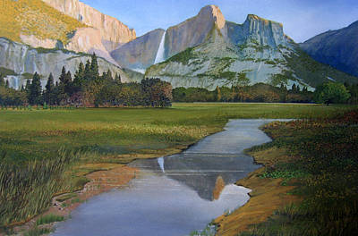 Sunrise Yosemite Poster