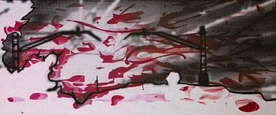 Sunset - Serigrafie Kunst Poster by Arte Venezia
