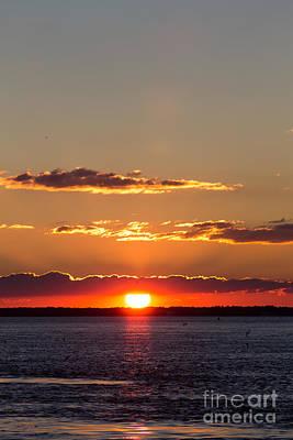 Sunset At Ir Poster