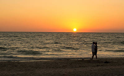 Sunset Embrace Poster