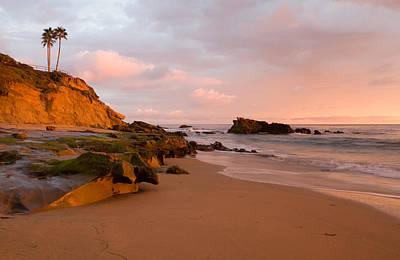 Sunset Glow  Laguna Beach Poster