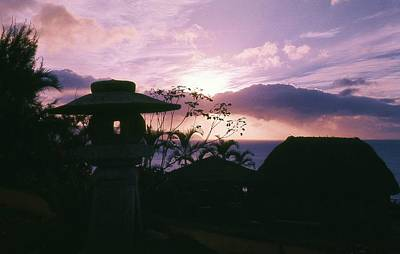 Poster featuring the photograph Sunset Pupukea Oahu by Craig Wood