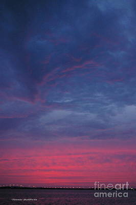 Poster featuring the photograph Sunset Surprise by Tannis  Baldwin