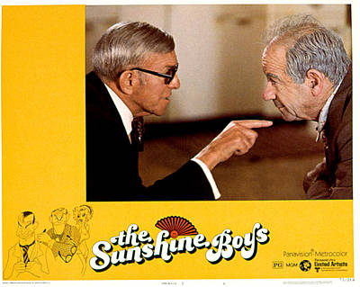 Sunshine Boys, The, George Burns Poster by Everett