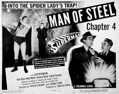 Superman, Serial, Kirk Alyn, Chapter 4 Poster