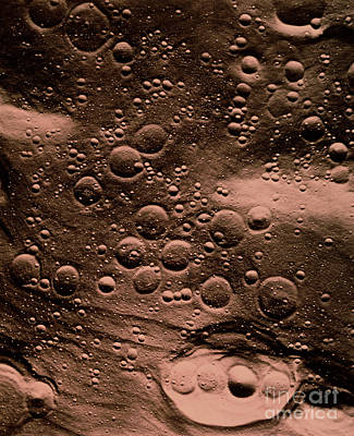 Surface Of The Moon Poster by NASA / Science Source