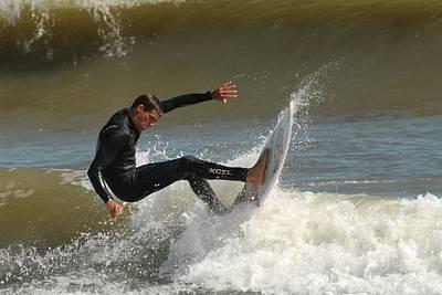 Surfing 408 Poster by Joyce StJames
