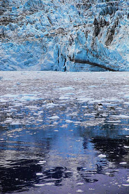 Surprise Glacier Poster by Rick Berk