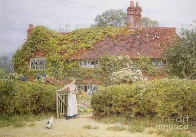 Surrey Cottage Poster