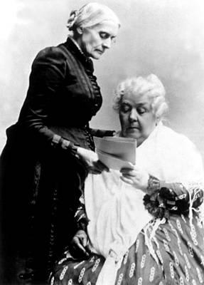 Susan B. Anthony & Elizabeth Cady Poster