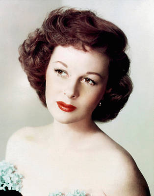 Susan Hayward, Ca. 1950s Poster by Everett