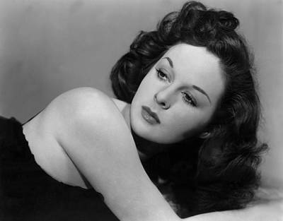Susan Hayward, Portrait, Circa 1942 Poster by Everett
