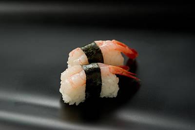 Sushi Amaebi Poster by Ryouchin