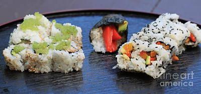 Sushi California Roll Poster by Henrik Lehnerer