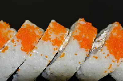 Sushi Homemade Poster by Carolyn Marshall