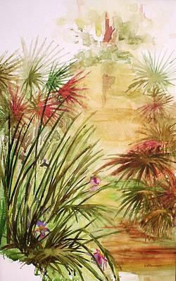 Swamp Iris Poster