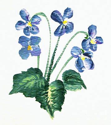 Sweet Violets Poster