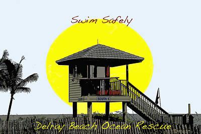 Swim Safely Poster