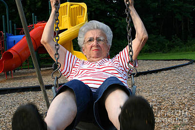 Swinging Grandmother 11 Poster