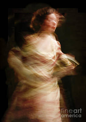 Swirling Poster by Margie Hurwich
