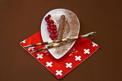 Swiss Chocolate Praline Poster