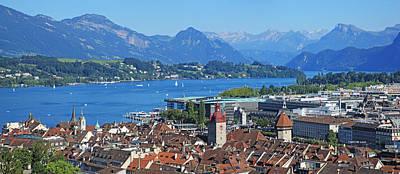 Switzerland, Lucerne Poster