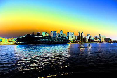 Sydney In Color Poster by Douglas Barnard