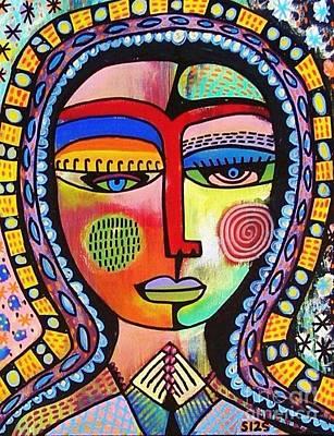 -talavera Virgin Of Guadalupe Enlightenment Poster