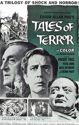 Tales Of Terror, L-r Basil Rathbone Poster
