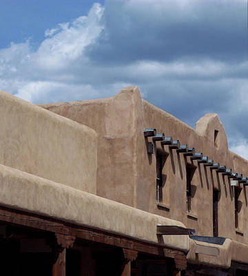 Poster featuring the photograph Taos Market by Susan Alvaro