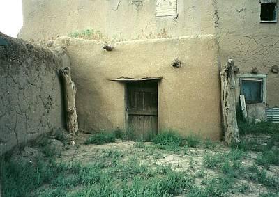 Taos Pueblo Door New Mexico Poster