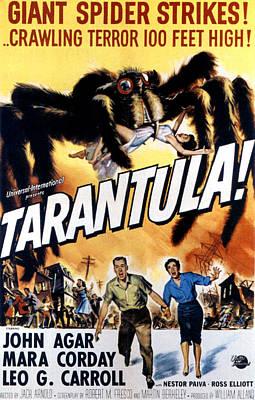 Tarantula, John Agar, Mara Corday, 1955 Poster