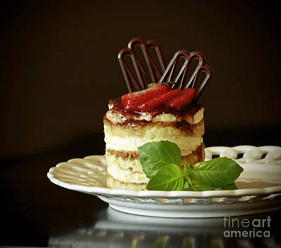 Taste Of Italy Tiramisu Poster by Inspired Nature Photography Fine Art Photography