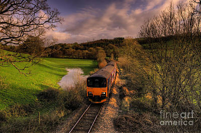 Taw Valley Poster by Rob Hawkins