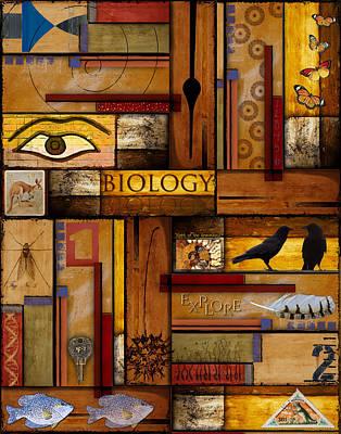 Teacher - Biology Poster by Carol Leigh
