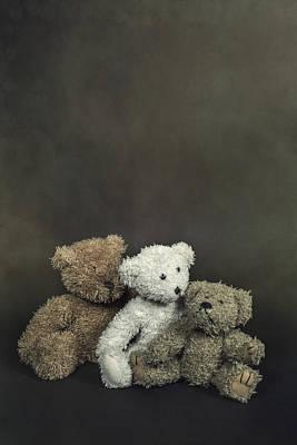 Teddy Bear Family Poster by Joana Kruse
