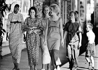 Teenagers In Los Angeles Model Poster