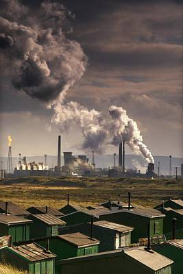 Teesside Refinery, England Poster