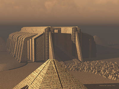 Temple Of Neoegypt Poster