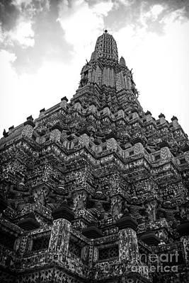Temple Pillar Poster
