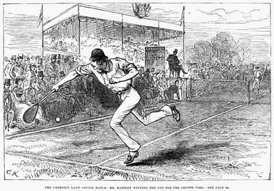 Tennis: Wimbledon, 1880 Poster
