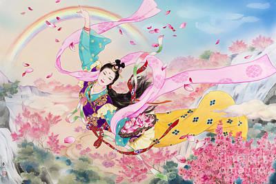 Tennyo Poster by Haruyo Morita