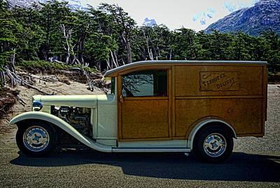 Termite Delight C1930 Ford Truck Poster