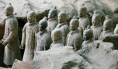 Terracotta Army Xi'an Poster by Jessica Estrada