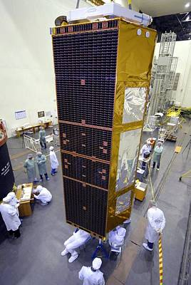 Terrasar-x Satellite Launch Preparations Poster by Ria Novosti