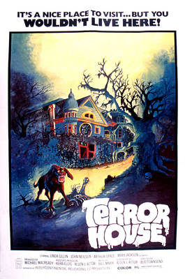 Terror House Aka Club Dead Terror At Poster