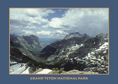 Teton Poster Poster